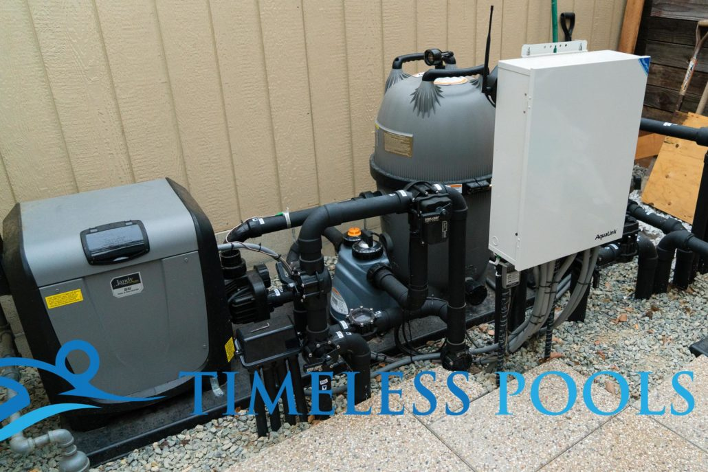 At Timeless Pools, equipment management is very important.