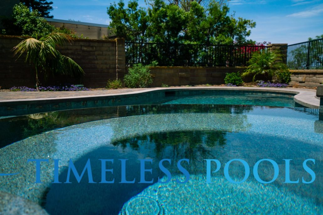 Spa infinity edge by Timeless Pools